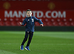 Kai Rooney son of Wayne plays on the Old Trafford turf during the Premier League match at the Old Trafford Stadium, Manchester. Picture date: November 27th, 2016. Pic Simon Bellis/Sportimage