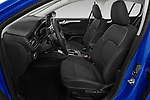 Front seat view of a 2018 Ford Focus Clipper Titanium Business 5 Door Wagon front seat car photos