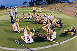 San Diego, CA 04/19/10 - The Torrey Pines team at half time.