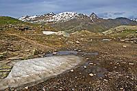 Berninagruppe, Bernina, Berninapass, Berggruppe, Berge, Alpen, Ostalpen, Engadin, Graubünden, Schweiz. Bernina Range, mountain range, Alps, Switzerland
