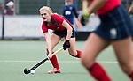UTRECHT -   Elin van Erk (Laren) tijdens de hockey hoofdklasse competitiewedstrijd dames:  Kampong-Laren (2-2). COPYRIGHT KOEN SUYK