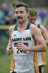 EVANSVILLE, IN - NOVEMBER 18: Joshua Sickinger (240) of Saint Leo University competes during the Division II Men's Cross Country Championship held at the Angel Mounds on November 18, 2017 in Evansville, Indiana. (Photo by Tim Broekema/NCAA Photos/NCAA Photos via Getty Images)