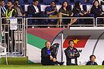Vietnam Head Coach Park Hangseo (C) reacts during the AFC Asian Cup UAE 2019 Quarter Finals match between Vietnam (VIE) and Japan (JPN) at Al Maktoum Stadium on 24 January 2018 in Dubai, United Arab Emirates. Photo by Marcio Rodrigo Machado / Power Sport Images