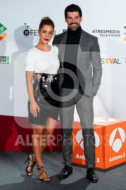 Actress Alejandra Onieva and Miguel Angel Munoz attends presentation of 'Presunto Culpable' during FestVal in Vitoria, Spain. September 05, 2018. (ALTERPHOTOS/Borja B.Hojas)