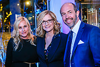"NEW YORK - NOVEMBER 14: Patricia Arquette, Bonnie Hunt and Eric Lange attend the party following the premiere of Showtime's limited series ""Escape at Dannemora"" at Alice Tully Hall in Lincoln Center on November 14, 2018 in New York City. (Photo by Kena Betancur/Showtime/PictureGroup)"