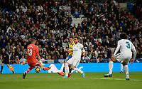 Real Madrid's Kiko Casilla, Sergio Ramos and Jesus Vallejo  and UD Las Palmas' Vitolo during La Liga match. November 5,2017. (ALTERPHOTOS/Inma Garcia)