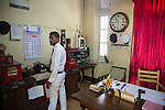 Station master office Interior of railway station, Ella, Badulla District, Uva Province, Sri Lanka, Asia