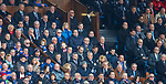 11.3.2018 Rangers v Celtic:<br /> Alex McLeish watches on