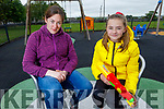 Trish and Liadain Kelly from Ardfert enjoying their afternoon in the Ardfert playground on Tuesday