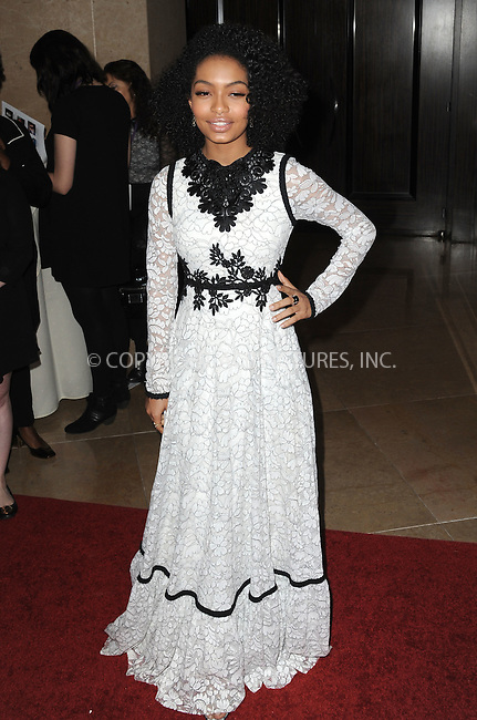 www.acepixs.com<br /> <br /> January 19 2017, LA<br /> <br /> Yara Shahidi arriving at the 2017 Annual Artios Awards at The Beverly Hilton Hotel on January 19, 2017 in Beverly Hills, California<br /> <br /> By Line: Peter West/ACE Pictures<br /> <br /> <br /> ACE Pictures Inc<br /> Tel: 6467670430<br /> Email: info@acepixs.com<br /> www.acepixs.com