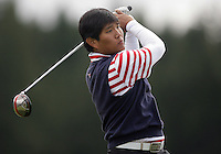 20 May, 2010:  Southern Methodist Universities James Kwon drives the ball down the fairway on hole one during the NCAA West Regional First Round at Gold Mountain Golf Course in Bremerton, Washington.