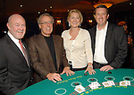 From left: Dr. David Poplack, Mike and Carol Linn and Jay Taylor at the Texas Children's Cancer Center casino night party at the Downtown Aquarium Thursday Sept. 24,2009.(Dave Rossman/For the Chronicle)