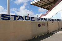 The main entrance to the Stade Francis Turcan, Martigues during Mexico Under-21 vs England Under-21, Tournoi Maurice Revello Final Football at Stade Francis Turcan on 9th June 2018