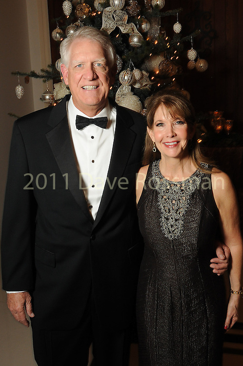 Co-chair Donna Grehn and her husband Chuck at the 27th annual Trees of Hope Holiday Gala at The Citadel on Kirby Friday Oct. 04,2016.(Dave Rossman photo)