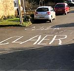 keep claer road markings