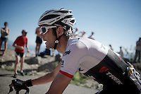Frank Schleck (LUX/Trek-Segafredo) up the Lacets du Grand Colombier (Cat1/891m/8.4km/7.6%)<br /> <br /> stage 15: Bourg-en-Bresse to Culoz (160km)<br /> 103rd Tour de France 2016