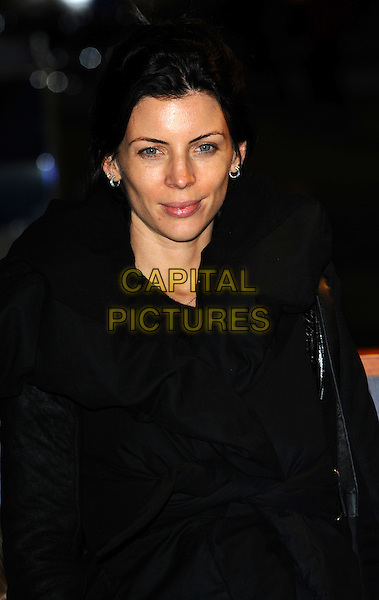 Liberty Ross.The Winter Wonderland launch party, Hyde Park, London, England..November 17th, 2011.full length black jacket .CAP/CJ.©Chris Joseph/Capital Pictures.