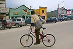 Dawson City, 2010,    Front Street ,THE YUKON TERRITORY, CANADA