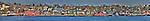 Panorama of Lunenburg Nova Scotia.Original file 187 MB.