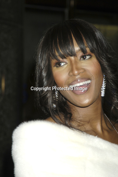 "Naomi Campbell ..arriving at the Broadway opening of ""The Color Purple"" ..produced by Oprah Winfrey on December 1, 2005 ..at The Broadway Theatre...Photo by Robin Platzer, Twin Images"