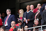 Ruud Gullit looks on during the premier league match at the Anfield Stadium, Liverpool. Picture date 19th August 2017. Picture credit should read: David Klein/Sportimage