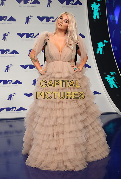 INGLEWOOD, CA - August 27: Kesha, At 2017 MTV Video Music Awards At The Forum In California on August 27, 2017. <br /> CAP/MPI/FS<br /> &copy;FS/MPI/Capital Pictures