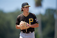 Pittsburgh Pirates starting pitcher Max Kranick (26) gets ready to deliver a pitch during a Florida Instructional League game against the Toronto Blue Jays on September 20, 2018 at the Englebert Complex in Dunedin, Florida.  (Mike Janes/Four Seam Images)