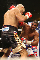 David Haye defeats Nikolay Valuev for the WBA heavyweight championship of the world at the .Arena Nürnberger Versicherung, Nuremberg, Germany 07 November 2009 photo by Chris Royle.