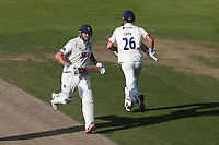 Nick Browne and Alastair Cook add to the Essex total during Warwickshire CCC vs Essex CCC, Specsavers County Championship Division 1 Cricket at Edgbaston Stadium on 11th September 2019