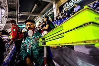 Matraqueros  , durante el  segundo d&iacute;a de actividades de la Serie del Caribe con el partido de beisbol  Tomateros de Culiacan de Mexico  contra los Alazanes de Gamma de Cuba en estadio Panamericano en Guadalajara, M&eacute;xico,  s&aacute;bado 3 feb 2018. <br /> (Foto  / Luis Gutierrez)