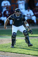 Mike Nickeas of the Georgia Tech Yellow Jackets in the field during a 2004 season game against the Southern California Trojans at Goodwin Field, in Fullerton, California. (Larry Goren/Four Seam Images)