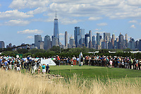 Jon Rahm (ESP) in action during the final round of the Northern Trust played at Liberty National Golf Club, Jersey City, USA. 11/08/2019<br /> Picture: Golffile | Phil INGLIS<br /> <br /> All photo usage must carry mandatory copyright credit (© Golffile | Phil INGLIS)