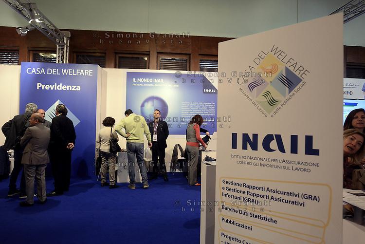Roma, 27 Maggio 2015<br /> Forum Pa 2015<br /> Il padiglione INAIL<br /> 26&deg; mostra convegno dell'innovazione nella Pubblica amministrazione e nei sistemi territoriali.