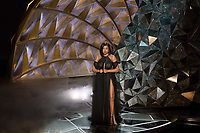 Taraji P. Henson presenting during the live ABC Telecast of The 90th Oscars&reg; at the Dolby&reg; Theatre in Hollywood, CA on Sunday, March 4, 2018.<br /> *Editorial Use Only*<br /> CAP/PLF/AMPAS<br /> Supplied by Capital Pictures
