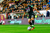 10th September 2017, Turf Moor, Burnley, England; EPL Premier League football, Burnley versus Crystal Palace; Lee Chung-yong of Crystal Palace controls the ball