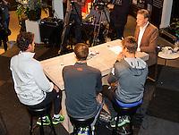 Februari 12, 2015, Netherlands, Rotterdam, Ahoy, ABN AMRO World Tennis Tournament, Robin Haase (NED)<br /> Photo: Tennisimages/Henk Koster