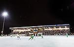 Stockholm 2015-01-06 Bandy Elitserien Hammarby IF - V&auml;ster&aring;s SK :  <br /> Vy &ouml;ver Zinkensdamms IP under matchen mellan Hammarby IF och V&auml;ster&aring;s SK <br /> (Foto: Kenta J&ouml;nsson) Nyckelord:  Elitserien Bandy Zinkensdamms IP Zinkensdamm Zinken Hammarby Bajen HIF V&auml;ster&aring;s VSK utomhus exteri&ouml;r exterior supporter fans publik supporters
