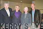 HISTORY: Responsible in getting the History Film of Knockanure to Tintean Theatre was Fr Pat Moore. Left to right Fr Pat Moore, Michael Joe Holly (Ballylongford) Fr Brendan O'Callaghan and Joe Harrington (Lyreacrompane).... ....