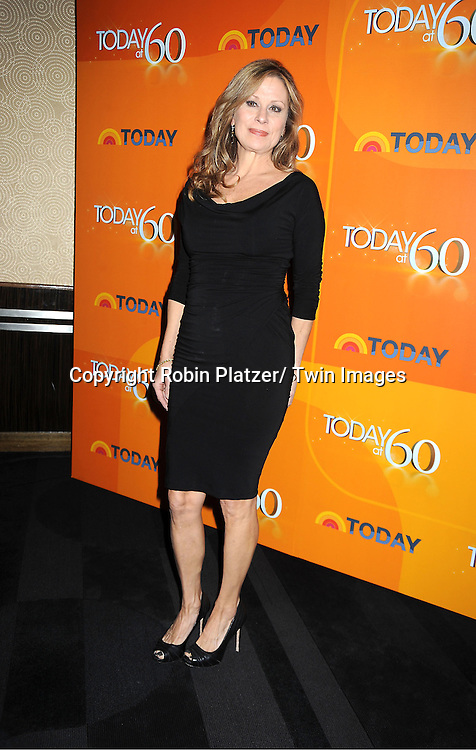 Faith Daniels attends The Today Show's 60th Anniversary celebration party on January 12, 2012 at The Edison Ballroom in New York City.