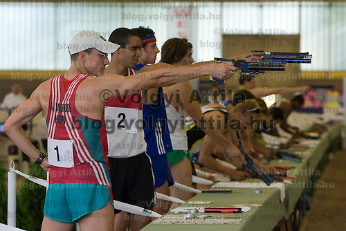 Pentathlon mens world cup held in Budapest, Hungary. Sunday, 10. May 2009. ATTILA VOLGYI