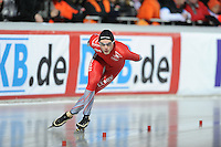SCHAATSEN: BOEDAPEST: Essent ISU European Championships, 08-01-2012, 10000m Men, Håvard Bøkko NOR, ©foto Martin de Jong