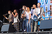 "London, UK. 21 June 2015. Stars from the forthcoming Burt Bacharach-musical ""What's It All About - Bacharach Reimagined"" perform at West End Live 2015 in Trafalgar Square. The musical will open at the Menier Chocolate Factory in July."