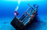 "Wreck of the ""Cartansar"", St. Thomas USVI"
