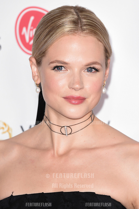 Gabriella Wilde in the winners room for the BAFTA TV Awards 2018 at the Royal Festival Hall, London, UK. <br /> 13 May  2018<br /> Picture: Steve Vas/Featureflash/SilverHub 0208 004 5359 sales@silverhubmedia.com