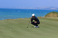Eunshin Park (KOR) on the 7th green during Round 1 of the Rocco Forte Sicilian Open 2018 on Thursday 10th May 2018.<br /> Picture:  Thos Caffrey / www.golffile.ie<br /> <br /> All photo usage must carry mandatory copyright credit (&copy; Golffile | Thos Caffrey)