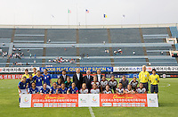 USWNT, Italy, Officials. The USWNT defeated, 2-0, at the Suwon Sports Center in Suwon, South Korea.