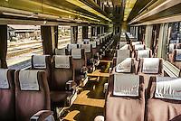 The Train in Gunma, Japan.