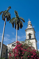 The old Nuestra Senora de Belen Convent and Church in Havana, Cuba.