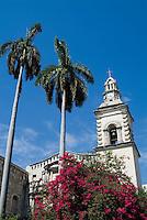 The old Nuestra Senora de Belen Convent and Church in Havana, Cuba.