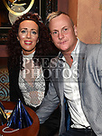 Peter Murray and Vicky Griffen enjoying the new years eve celebrations in The Thatch. . Photo:Colin Bell/pressphotos.ie